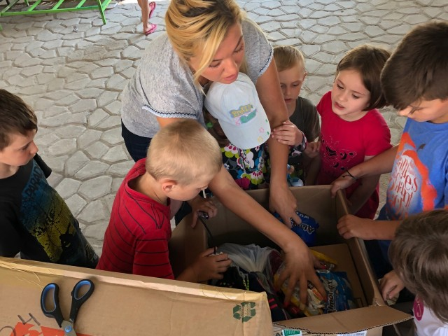 Helping Kids through local grassroots donations