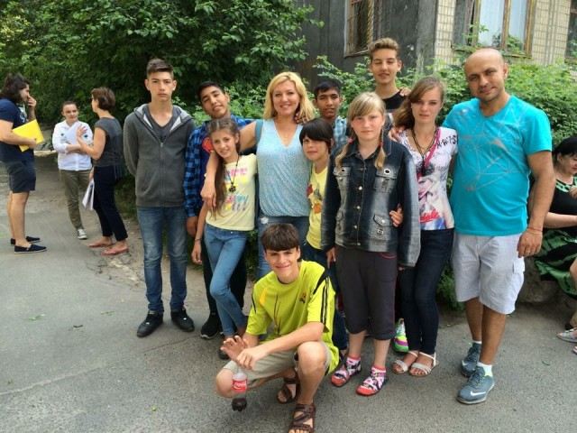 Summer and Winter Hosting programs for kids from Ukranian orphanages